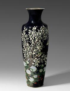 Enamel, Vase, Japanese, Artist, Beautiful, Home Decor, Auction, Vitreous Enamel, Decoration Home