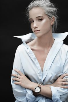 Meet: Hannah Waites (Shine By Three) Photo D Art, Foto Art, Photo Work, Pretty People, Beautiful People, Female Character Inspiration, Platinum Hair, Moda Fashion, White Hair