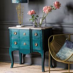 Valence Small Chest Of Drawers Chest Of Drawers & Wardrobes Graham & Green Chest Of Draws, Small Chest Of Drawers, Grey Hallway, Drawer Design, Night Table, Kitchen Units, Assisted Living, Contemporary Bathrooms, Creative Home