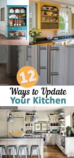 12 Ways to Update Your Kitchen