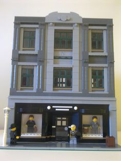 https://flic.kr/p/bu4Aih   Modular tailors 1940's setting   Here is a modular tailors with the ground floor consisting of various clothing. The first floor is manufacturing the suits and garments and the second floor is the managers office and secretary. Comments welcome!