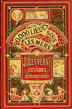 #book #cover #design #copertina Jules Verne
