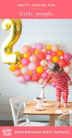 Shop birthday party supplies today!