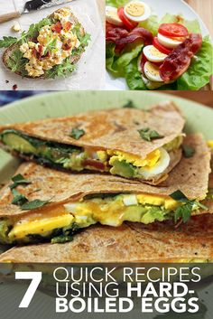 Check out these healthy breakfast, lunch and snack ideas using one of our favorite staples - eggs!