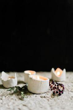 DIY: candle votive