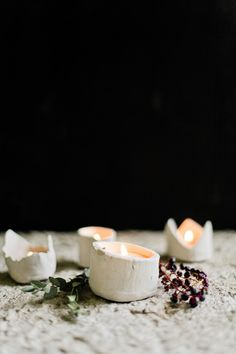 DIY: candle votive