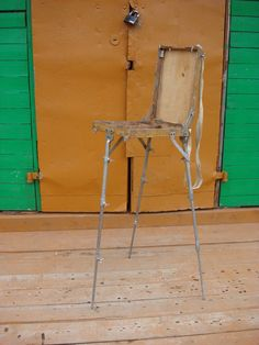 Vintage Easel. Painters Foldable Field Easel. от OldMoscowVintage