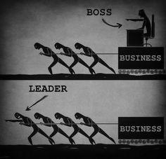 Főnök vs vezető