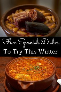Fighting The Winter Blues Is So Much Easier With These Delicious Spanish Cold-Weather Dishes! Warm yourself up with any of these 5 Spanish meals to try this winter. Some are regional, others are national favourites, either way you'll enjoy th Spanish Dishes, Spanish Food, Spanish Meals, Spanish Tortilla Recipe, Paella Recipe, Winter Dishes, Healthy Side Dishes, Winter Food, Quick Easy Meals