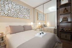 Quarto Casal empreendimento Mais Guarulhos / Mais Guarulhos Master Bedroom