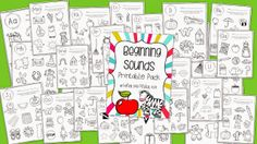 Beginning Sounds Printable Pack Giveaway