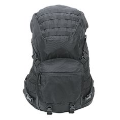 SHORT – RANGE – TACTICAL – PACKFor your Special Ops, hikes or pack trips, our S.R.T.P. backpack provides extreme comfort with light weight. The mesh back panel provides cooling air flow to your back and lumbar padding for added comfort. Contoured wishbone steel rod frame is flexible and stiffens against the frame sheet as more weight is added, allowing for proper transfer of the weight directly to the lumbar pad and hips. The adjustable, padded waist belt has MOLLE webbing for added pouch…