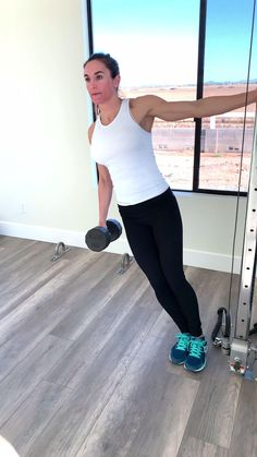 Free calorie burning home workout to tone your shoulders and strengthen that core without ever having to leave your house. Fitness Workouts, 30 Day Fitness, At Home Workouts, Fitness Tips, Butt Workouts, Monthly Workouts, Fitness Plan, Fitness Journal, Band Workout
