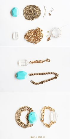 DIY Bracelet Tutorials – Easy to Make Gemstone bracelet