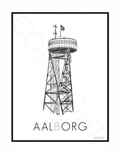 Plakat - Aalborg Tårnet