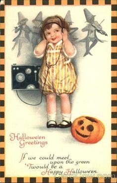 Halloween Greetings Ellen Clapsaddle