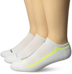 Balega Zulu No Show Socks 3 Pack WhiteGreyYellow Small -- Check out this great product.Note:It is affiliate link to Amazon.