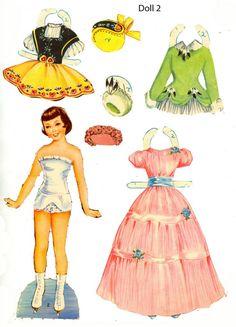 Паперові ляльки/Бумажные куклы/ Paper Dolls's photos