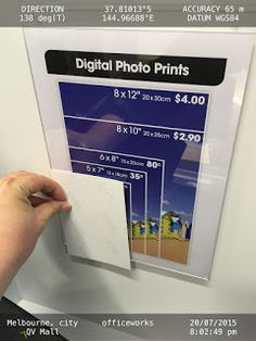 "Actual Sized-Digital Photo Prints Sample Needed to avoid misleading customers    WOOLWORTHS LIMITED  1 WOOLWORTHS WAY  BELLA VISTA NSW 2153  AUSTRALIA  Attention:  Mr. Mark Ward  CEO of Officeworks  ""ACTUAL SIZED"" DIGITAL PHOTO PRINTS SAMPLE NEEDED TO AVOID MISLEADING CUSTOMERS  Dear Mr. Ward  I wish you well.  I am a frequent shopper at Officeworks. Imagine that you are a customer looking at the photo enclosed. The information on the sign does not relate to the actual photo size. Do you not…"