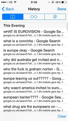 USA during Eurovison.