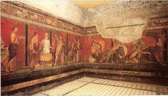 Villa of Mysteries Frescos, c. 65-50 BCE, Pompeii