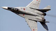 MIG-29 (pertence ao núcleo da aviação de caça da Russia)