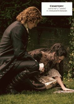 Outlander definitions.- Cemetery. (x)