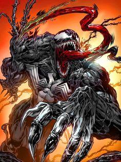 Venom by Hugh Rookwood - Marvel Universe Venom Comics, Marvel Venom, Marvel Villains, Marvel Comics Art, Marvel Characters, Marvel Heroes, Marvel Avengers, Amazing Spiderman, Spiderman Art