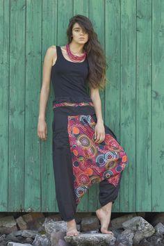 Pantalones - Harem Pants, Gypsy Pants, Romper, Aladdin, Genie - hecho a mano por KOKOworld en DaWanda