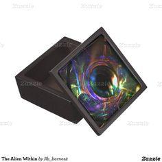 The Alien Within Premium Trinket Boxes