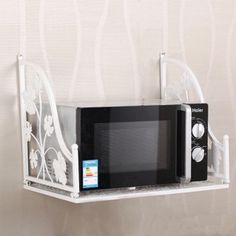 Microwave Wall Mount Shelf Modern Kitchen Furniture Photos Ideas Reviews Wall Mounted Shelves Modern Kitchen Furniture Microwave Wall Mount