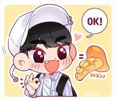 Min Gyu, Mingyu Wonwoo, All About Kpop, Mingyu Seventeen, Meanie, Kpop Fanart, Dope Art, Anime Chibi, Webtoon