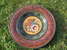Beautiful Norwegian Rosemaling done in by Folkartbycathy on Etsy