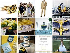 Your favorite sports team can be the inspiration for your wedding theme.
