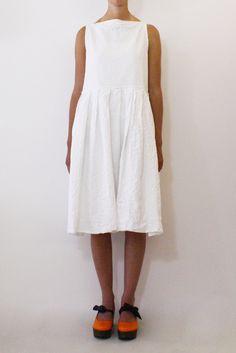 Daniela Gregis washed sleeveless dress grecale