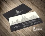 Real Estate & Property Management Business Card Template
