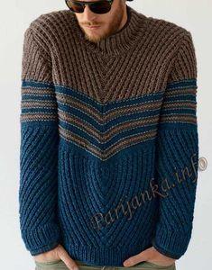 Пуловер (м) 735 Creations 2013/2014 Bergere de France №3781