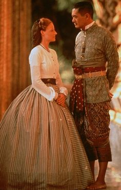 Jodie Foster and Chow Yun Fat in Anna & the King (early 1860s)