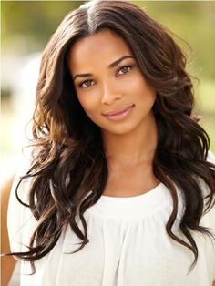 Constance 'Connie' Harrison - Leo's sister -(The Devil's Whore) - Rochelle Aytes Ebony Beauty, Dark Beauty, Beautiful Black Women, Beautiful Eyes, Beautiful Curves, Rochelle Aytes, Natural Hair Styles, Long Hair Styles, African Beauty