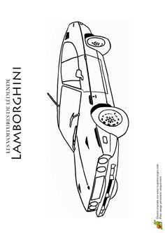 Sports car coloring pages free car coloring pages - Lamborghini a colorier ...