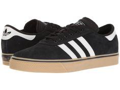 3ebbc12be7f2 adidas Skateboarding Adi-Ease Premiere Men s Skate Shoes Black White Gum 2