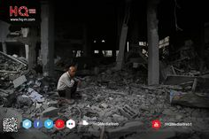 Confused ..  Man confused between the folds of his ruined home can not pronounce words ..  #ICC4Israel #gaza #GazaUnderAttack #AJAGAZA  #غزة_تقاوم #غزة_تحت_القصف #غزة_إلى_أين #غزة  website : www.hq-m.com