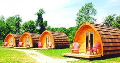 This Wilderness Pod Resort In Ontario Is The Coolest Place To Go Camping This Summer featured image Ontario Camping, Camping In Ohio, Ontario Travel, Florida Camping, Camping Places, Half Moon Bay Camping, Ontario Place, Wilderness Resort, Canadian Travel