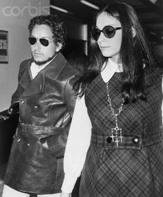 Bob Dylan and Wife 1969