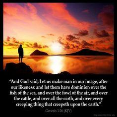 Genesis 1:26 KJV