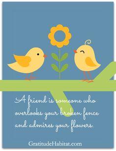 with gratitude and generosity. Visit us at: www.GratitudeHabitat.com