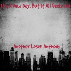 Screw Mean People LyricArt For The Anthem By Good Charlotte