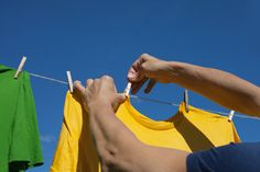 Eliminating Line Dried Clothing Stiffness: These tricks are so clever and make your clothes soft from the line!