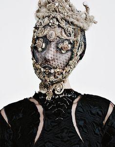 Franzi Müller by Armin Morbach for Tush Magazine Fall/Winter 2015 Fashion Mask, Couture Fashion, Armin, Arte Peculiar, Tush Magazine, Mode Editorials, Fashion Editorials, Weird Fashion, High Fashion