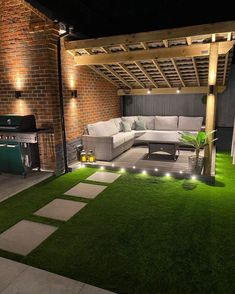 Terrace Garden Design, Back Garden Design, Small Backyard Design, Modern Garden Design, Backyard Patio Designs, Small Backyard Landscaping, Backyard Ideas, Patio Garden Ideas Uk, Small Back Garden Ideas